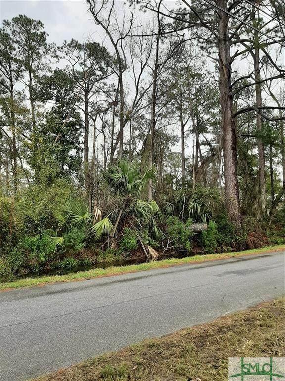 0 Wilma Street, Savannah, GA 31410 (MLS #219549) :: Bocook Realty