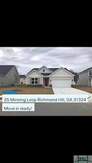 25 Minning Loop, Richmond Hill, GA 31324 (MLS #221695) :: The Arlow Real Estate Group