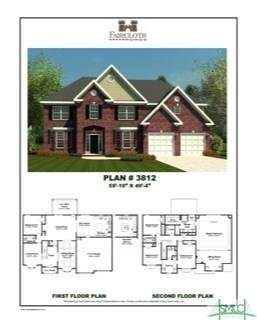 6 Bellemeade Drive, Guyton, GA 31312 (MLS #222146) :: Heather Murphy Real Estate Group