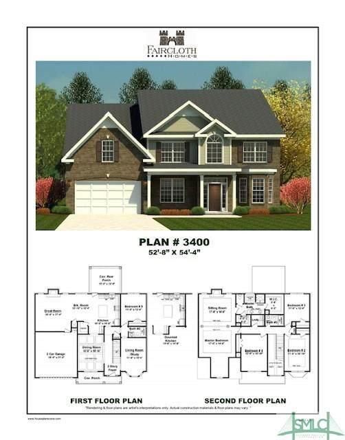 7 Oak Alley, Guyton, GA 31312 (MLS #224180) :: Barker Team | RE/MAX Savannah