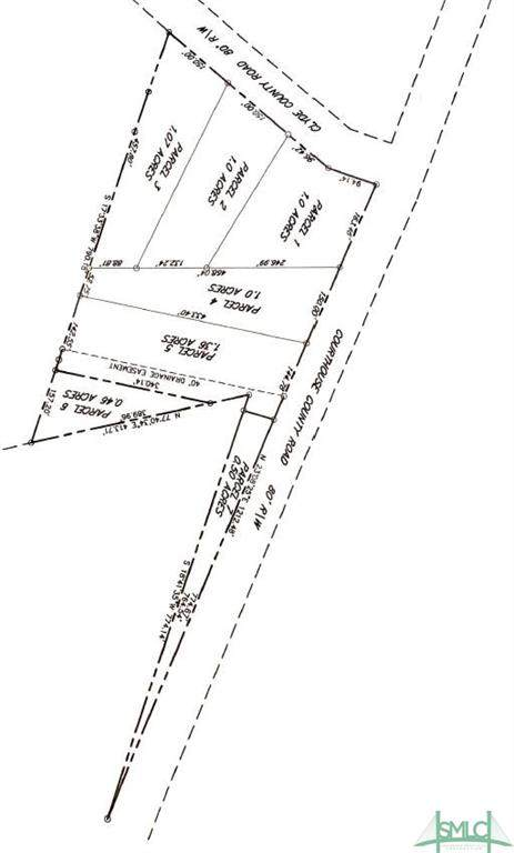 Parcel 1 Courthouse Road, Springfield, GA 31329 (MLS #226495) :: Bocook Realty