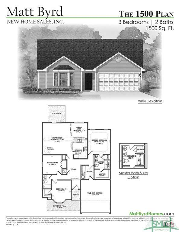 116 Cook Street, Springfield, GA 31329 (MLS #230720) :: Partin Real Estate Team at Luxe Real Estate Services