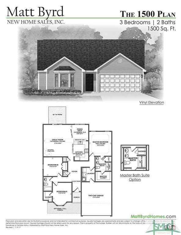 110 Cook Street, Springfield, GA 31329 (MLS #230722) :: The Arlow Real Estate Group