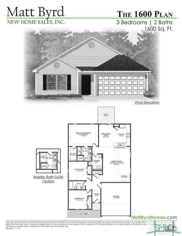 108 Cook Street, Springfield, GA 31329 (MLS #230723) :: The Arlow Real Estate Group