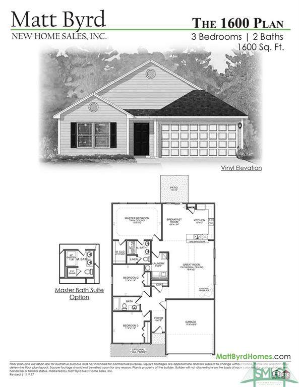 103 Dasher Drive, Springfield, GA 31329 (MLS #230725) :: The Arlow Real Estate Group
