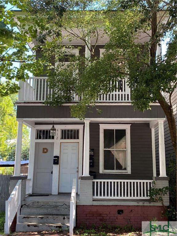 412 E Duffy Street, Savannah, GA 31401 (MLS #231161) :: Level Ten Real Estate Group