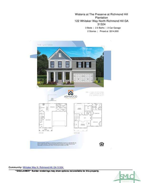 122 Whitaker Way N, Richmond Hill, GA 31324 (MLS #236307) :: The Arlow Real Estate Group