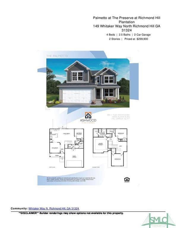 149 Whitaker Way N, Richmond Hill, GA 31324 (MLS #236310) :: Partin Real Estate Team at Luxe Real Estate Services