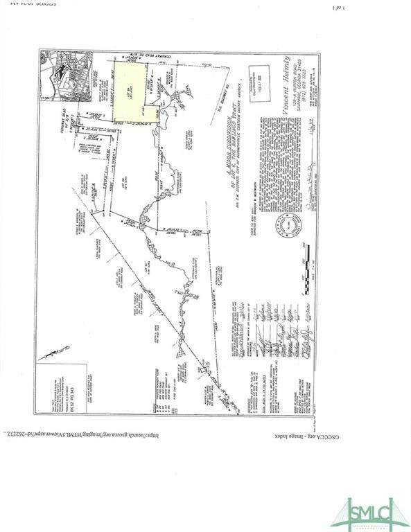 0 Conaway Road, Bloomingdale, GA 31302 (MLS #240092) :: Liza DiMarco
