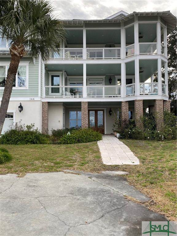 144 San Marco Drive, Tybee Island, GA 31328 (MLS #243055) :: Glenn Jones Group | Coldwell Banker Access Realty