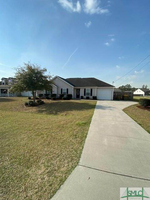 300 Bonnie Circle, Ellabell, GA 31308 (MLS #244445) :: Keller Williams Coastal Area Partners