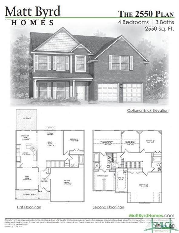 101 Burns Court, Springfield, GA 31329 (MLS #246397) :: Coldwell Banker Access Realty