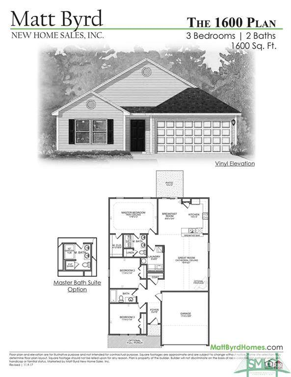 107 Dasher Drive, Springfield, GA 31329 (MLS #246461) :: The Arlow Real Estate Group