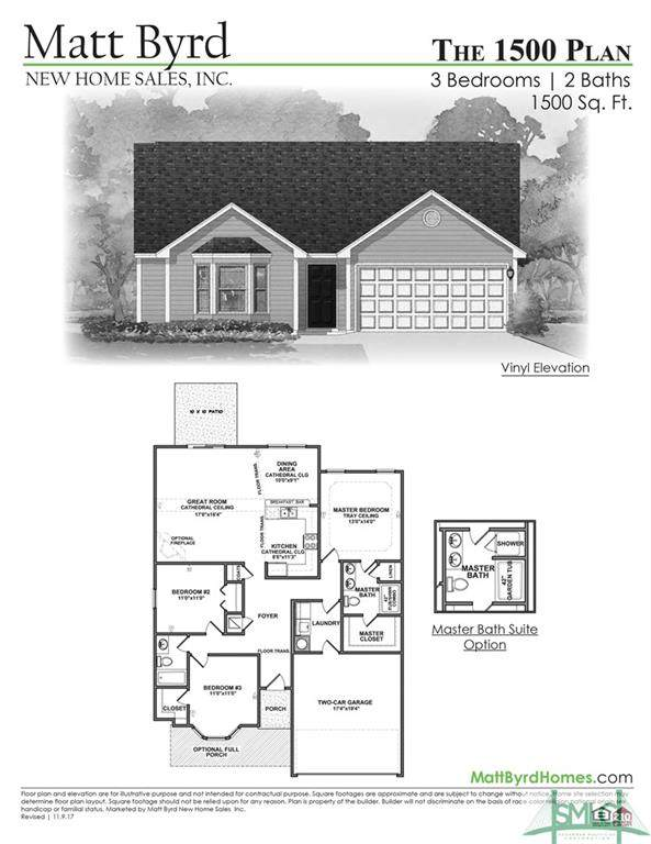 105 Burns Court, Springfield, GA 31329 (MLS #246464) :: The Arlow Real Estate Group