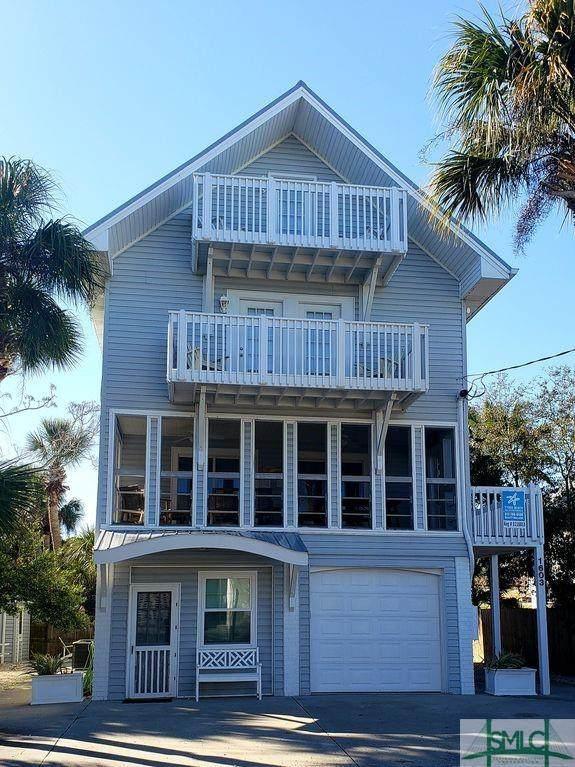 1603 Lovell Avenue, Tybee Island, GA 31328 (MLS #246578) :: The Arlow Real Estate Group