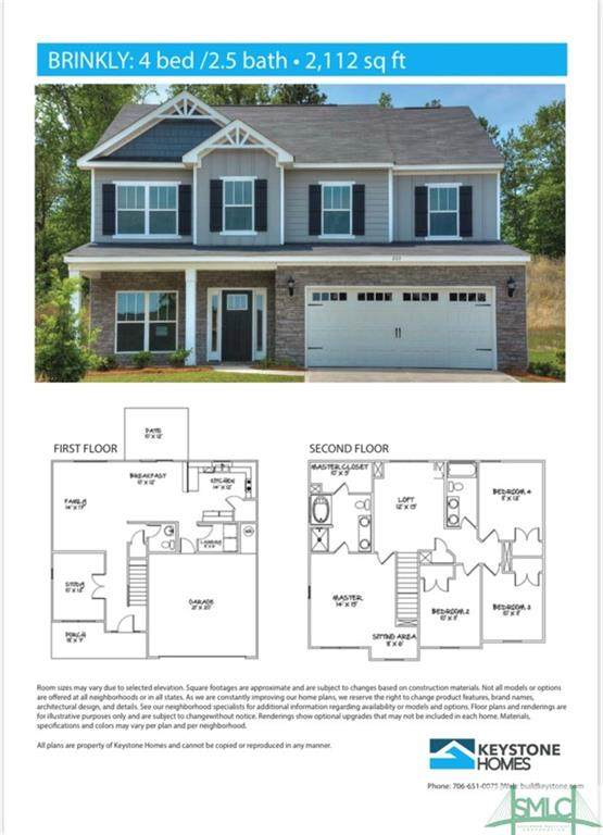 304 Crosswinds Drive, Rincon, GA 31326 (MLS #248082) :: Coldwell Banker Access Realty