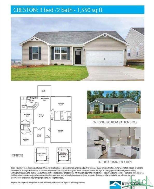 314 Crosswinds Drive, Rincon, GA 31326 (MLS #248085) :: The Arlow Real Estate Group