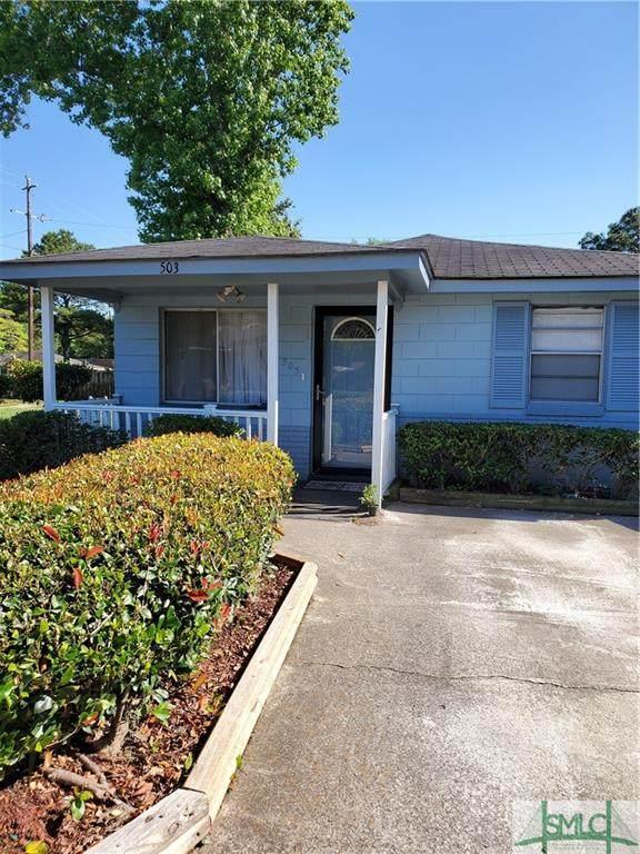 503 Sherman Avenue, Savannah, GA 31405 (MLS #248514) :: McIntosh Realty Team