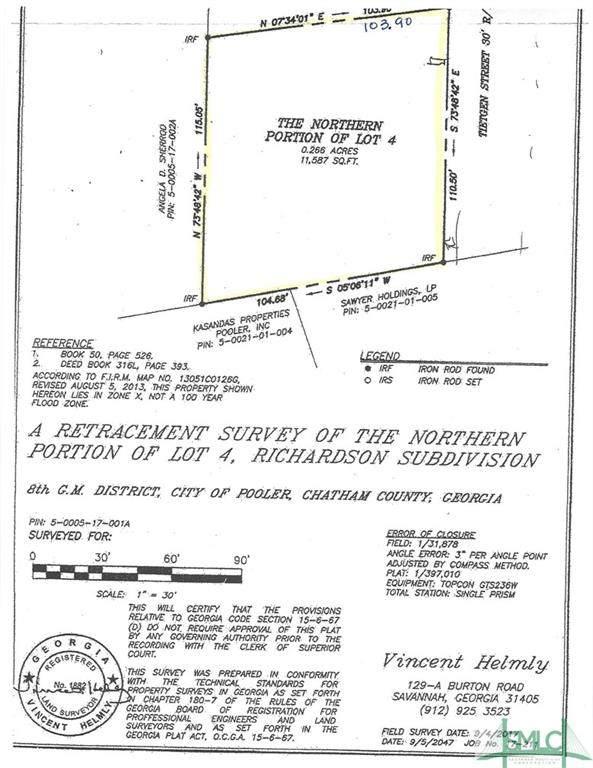 0 E Tietgen Street, Pooler, GA 31322 (MLS #248603) :: Heather Murphy Real Estate Group