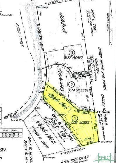 Lot 1 Huger Street, Rincon, GA 31326 (MLS #250972) :: Heather Murphy Real Estate Group