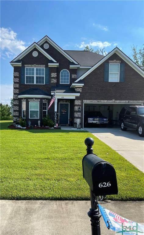 626 Red Oak Lane, Hinesville, GA 31313 (MLS #251357) :: Keller Williams Coastal Area Partners