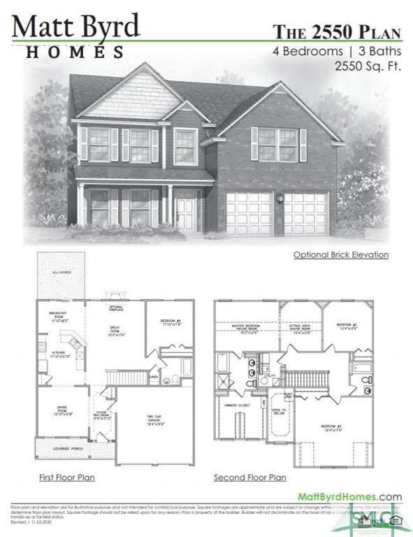101 Dasher Drive, Springfield, GA 31329 (MLS #251417) :: The Arlow Real Estate Group