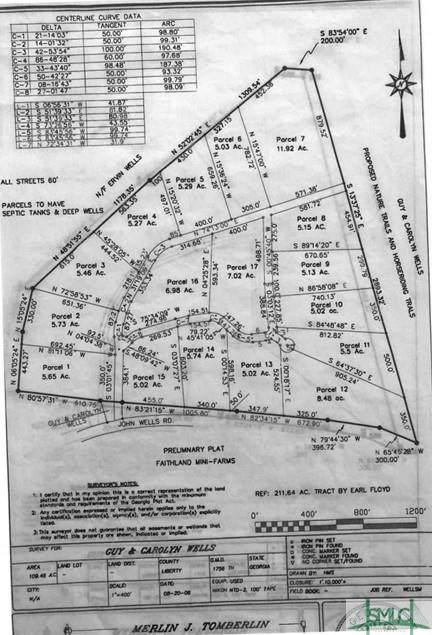 Lot 7 Faithland Drive, Hinesville, GA 31313 (MLS #254069) :: Coastal Savannah Homes