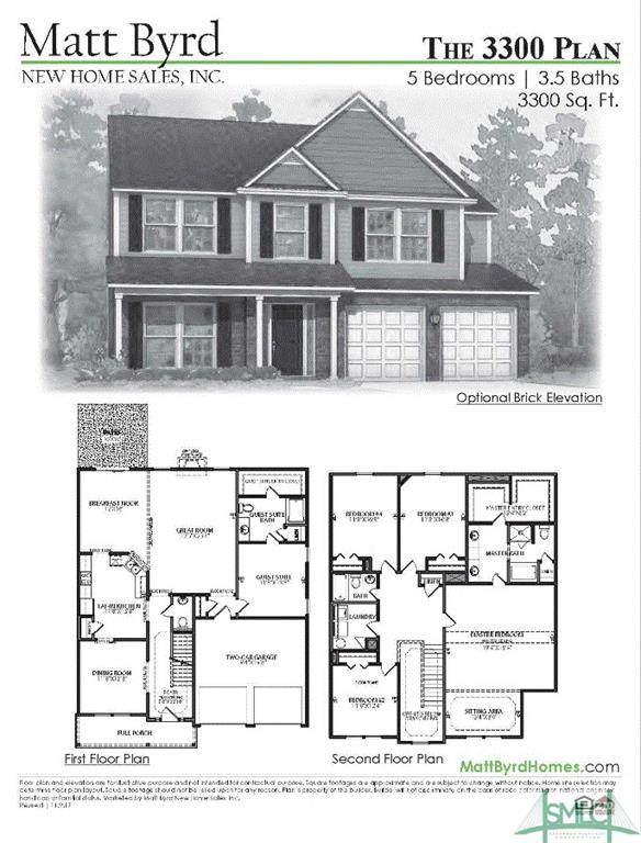 111 Franklin's Walk, Rincon, GA 31326 (MLS #254156) :: Heather Murphy Real Estate Group