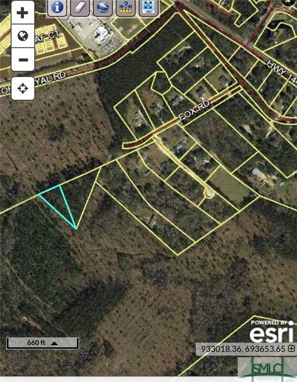 0 Fox Road, Richmond Hill, GA 31324 (MLS #258182) :: The Arlow Real Estate Group
