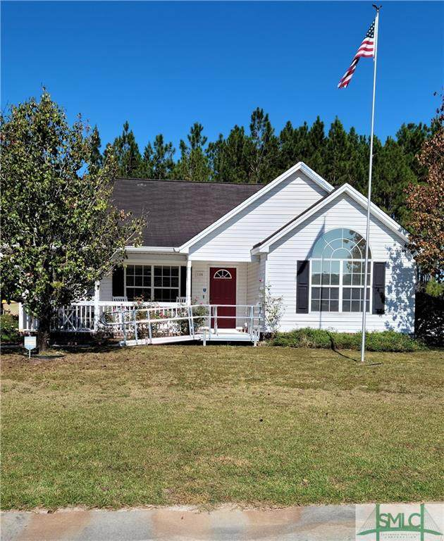 136 Jamestown Drive, Rincon, GA 31326 (MLS #260094) :: Bocook Realty