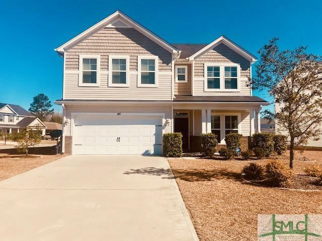 46 Tranquil Place, Pooler, GA 31322 (MLS #185181) :: Coastal Savannah Homes