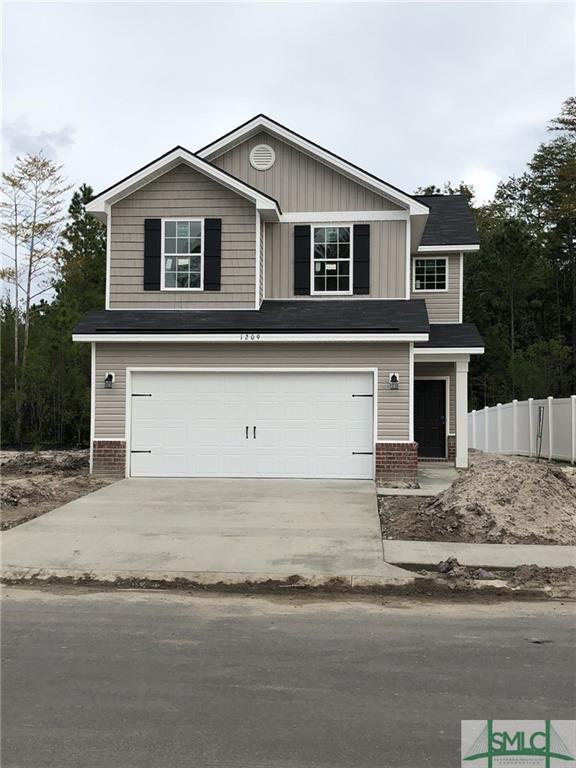 1209 Cypress Fall Circle, Hinesville, GA 31313 (MLS #196235) :: Coastal Savannah Homes