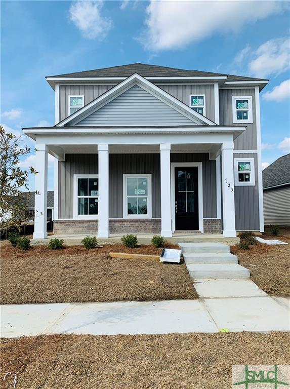 125 Crabapple Circle, Port Wentworth, GA 31407 (MLS #198430) :: Karyn Thomas