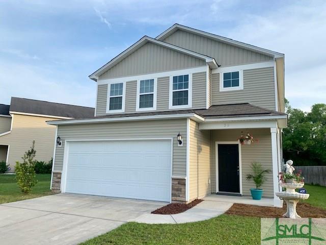38 Glenwood Court, Pooler, GA 31322 (MLS #204818) :: The Arlow Real Estate Group