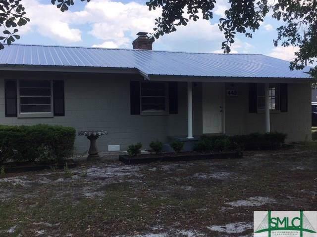 449 Nease Road, Guyton, GA 31312 (MLS #215741) :: The Arlow Real Estate Group