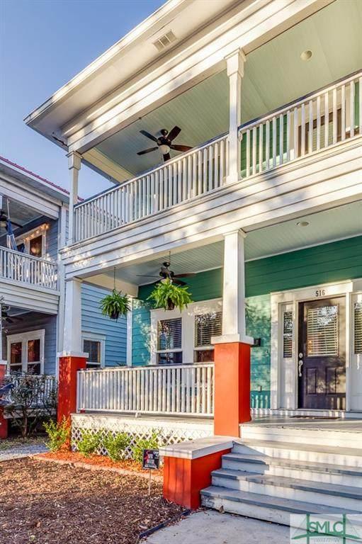 516 W 37th Street, Savannah, GA 31415 (MLS #240510) :: Barker Team | RE/MAX Savannah