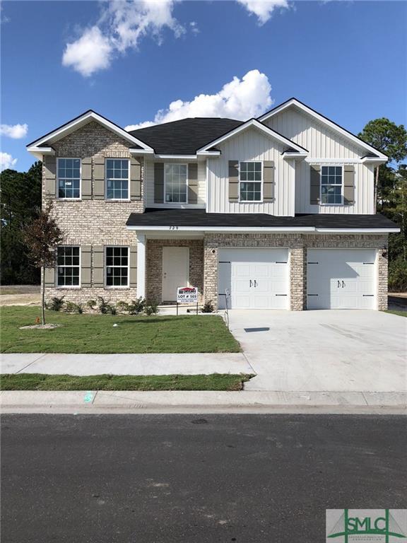 729 Waterlilly Court, Hinesville, GA 31313 (MLS #194216) :: Coastal Savannah Homes