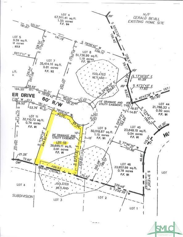 303 Westminster Drive, Guyton, GA 31312 (MLS #195935) :: Teresa Cowart Team