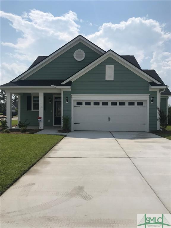 113 Rosamund Road, Pooler, GA 31322 (MLS #200595) :: The Randy Bocook Real Estate Team