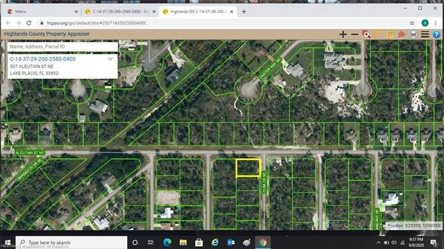 507 Aleutian Street NE, Lake Placid, FL 33852 (MLS #275501) :: Compton Realty