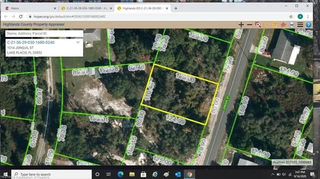 1014 Jonquil Street, Lake Placid, FL 33852 (MLS #275655) :: Compton Realty