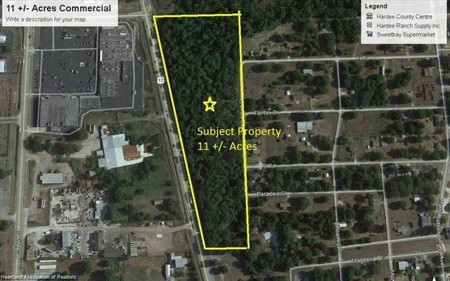 0 Us Hwy 17 Highway N, Wauchula, FL 33873 (MLS #276129) :: Compton Realty
