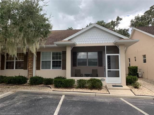 121 Sunset Terrace #201, Lake Placid, FL 33852 (MLS #276861) :: Compton Realty