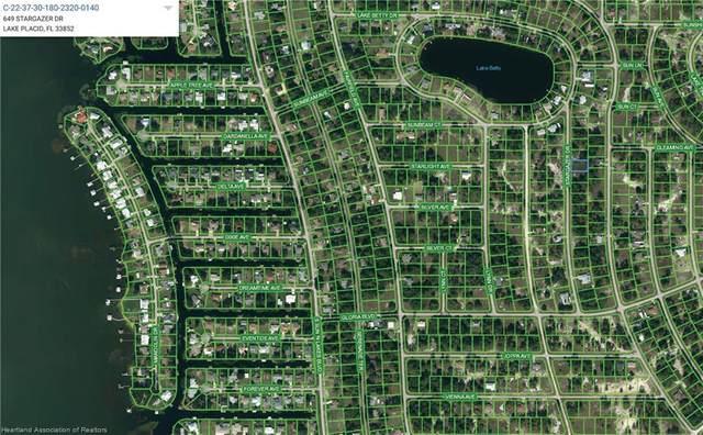 649 Stargazer Drive, Lake Placid, FL 33852 (MLS #281318) :: Compton Realty