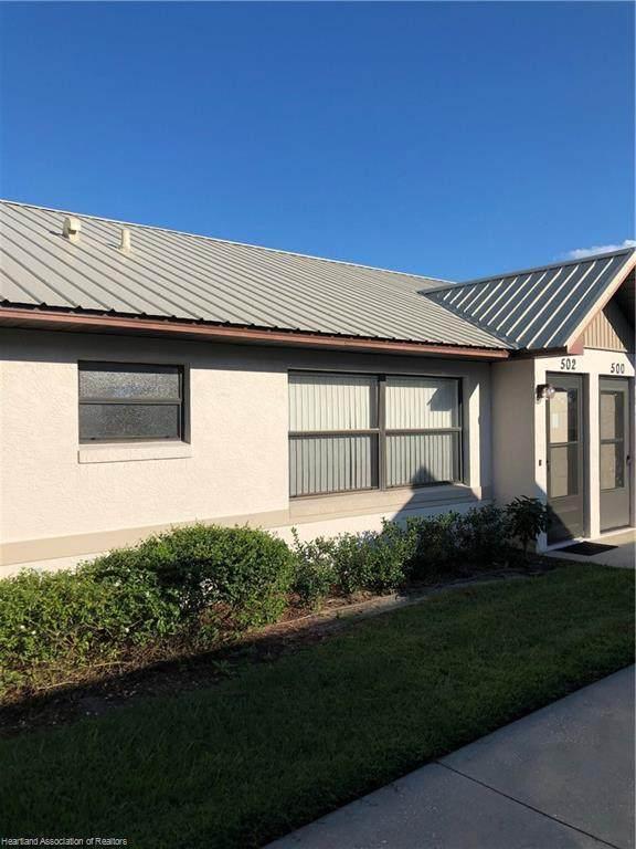 502 Villaway N, Sebring, FL 33876 (MLS #276493) :: Compton Realty