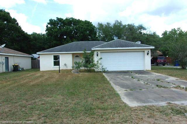 1696 W Salinas Road, Avon Park, FL 33825 (MLS #279612) :: Compton Realty