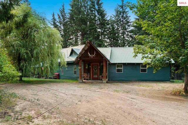 6851 N Rapid Lightning Creek Rd, Sandpoint, ID 83864 (#20212186) :: Heart and Homes Northwest