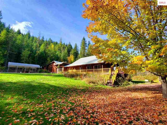7336 Upper Pack River Rd, Sandpoint, ID 83864 (#20213051) :: Real Estate Done Right