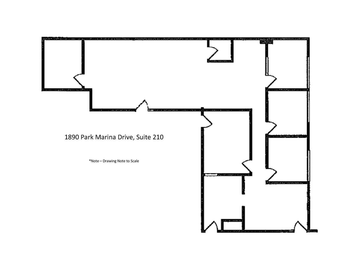 1890 Park Marina Drive, Suite 210 - Photo 1