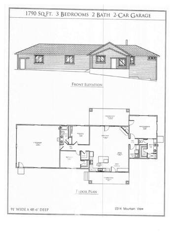 2314 Mountain View Dr, Weed, CA 96094 (#20-4543) :: Real Living Real Estate Professionals, Inc.